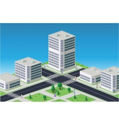 Isometric image vector image vector image