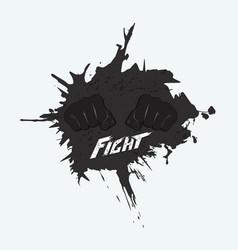 Logo for martial arts vector