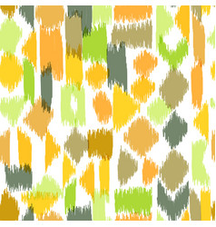 colorful textile pattern vector image