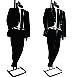 Business suit - vector
