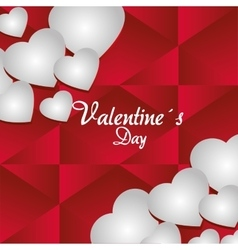 Love and valentines day vector