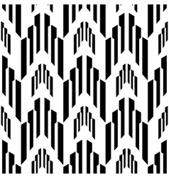 Abstract black and white background industrial vector image vector image