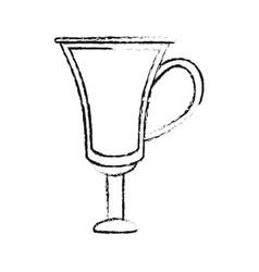 Blurred silhouette image cartoon transparent vector