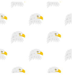 Eagle pattern seamless vector