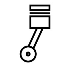 piston vector image