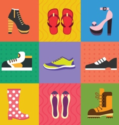 Shoes for all occasions vector