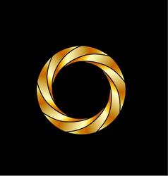 Aperture- photography logo vector