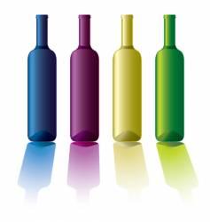 bottle variation vector image vector image