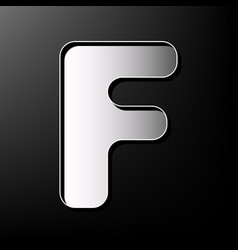 Letter f sign design template element vector