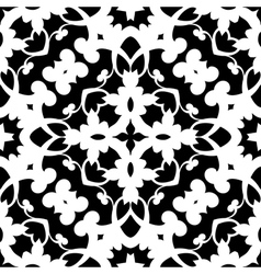 Paper lace pattern vector image vector image