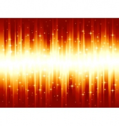 vibrant red golden festive stripes vector image