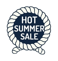 Summer sale logo vector