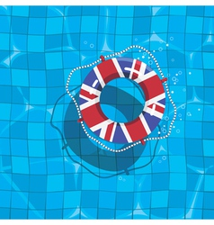 Uk life saver vector
