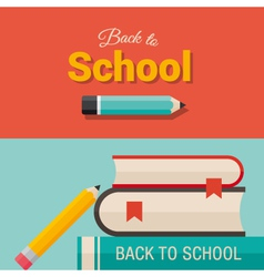 back to school design element 01 vector image