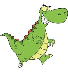 Cartoon dinosaur vector image vector image