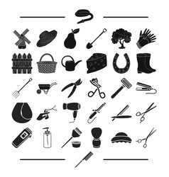 House gardening recreation and other web icon in vector