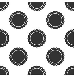 quality emblem icon seamless pattern vector image