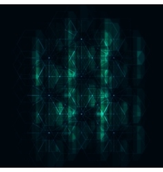 Abstract futuristic hexagonal background vector