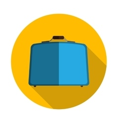 Flat Design Concept Suitcase vector image vector image