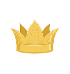 golden ancient crown classic heraldic imperial vector image vector image
