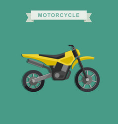 Motoctoss bike vector