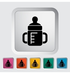 Feeding bottle vector
