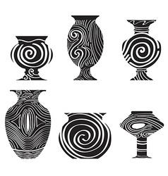 Antique earthenware icon vector