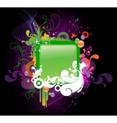 cartoon frame vector image vector image