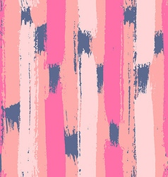 Hand drawn brush strokes seamless pattern vector