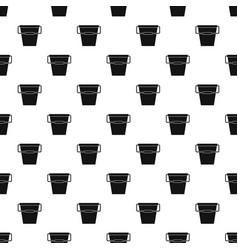 empty bucket pattern vector image