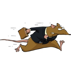 Rat race vector