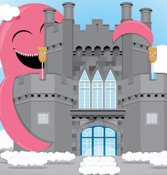 Castle animation vector