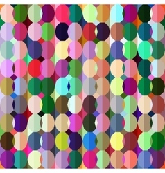 Geometrical sealess pattern in bright colors vector