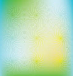 abstract swirl colorful background vector image