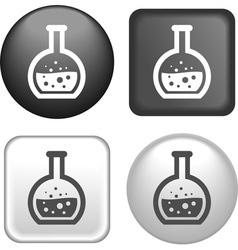 button kolba vector image vector image
