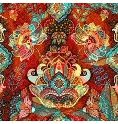 Colorful decorative pattern Ethnic floral vector image vector image