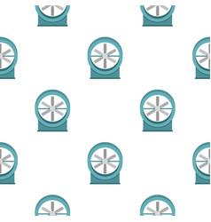 Metal electric fan pattern seamless vector