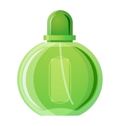 Perfume bottle isolated vector image