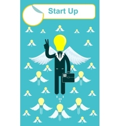 Start up business concept vector
