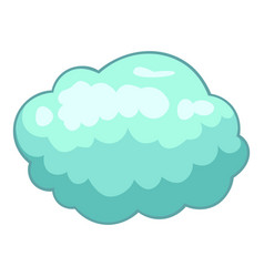 Storm cloud icon cartoon style vector