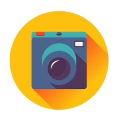 retro cameral icon vector image