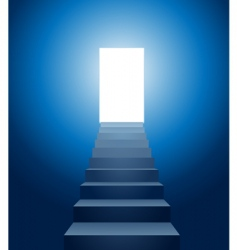 Stairways to heaven vector