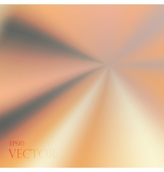 Asymmetric yellow orange light burst with the vector