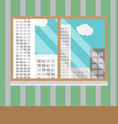 Business views window office vector