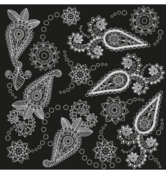 Ornate Paisley Pattern vector image vector image