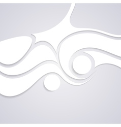 Wavy corporate swirl pattern design vector image