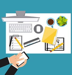 Business planning vector