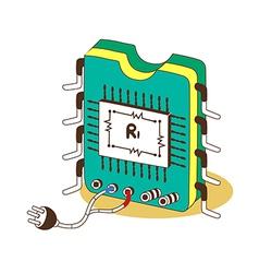 A circuitry vector