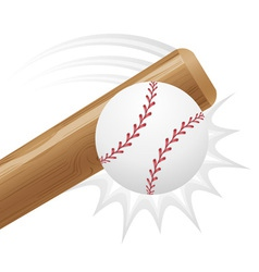 baseball 03 vector image