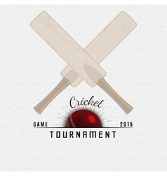 Cricket badges logos and labels for any use vector image